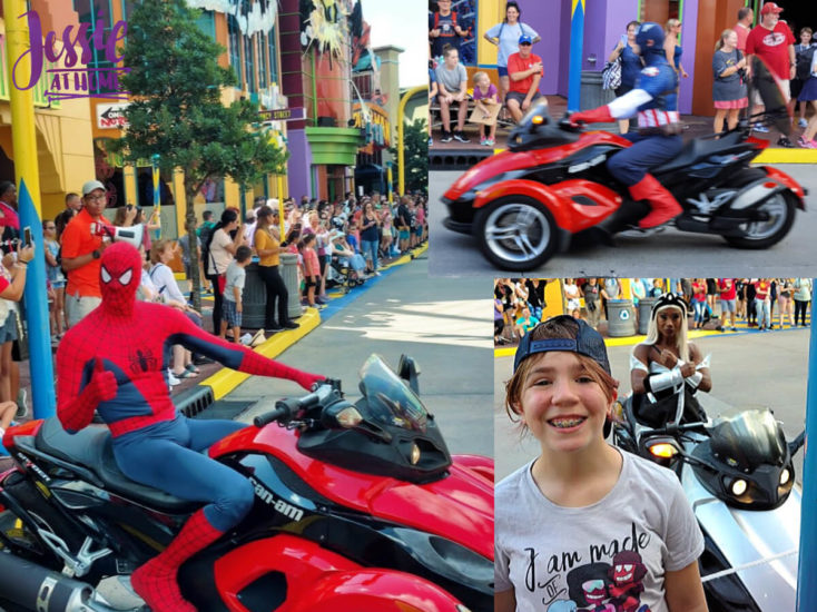 Marvel Fluxx and Universal Florida - Jessie At Home - Heros