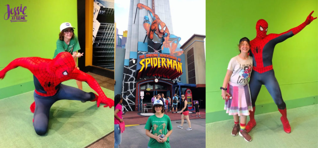 Marvel Fluxx and Universal Florida - Jessie At Home - SpiderMan