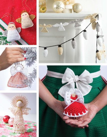 Retro Christmas Ornaments - crochet pattern book review from Jessie At Home - So Many Memories