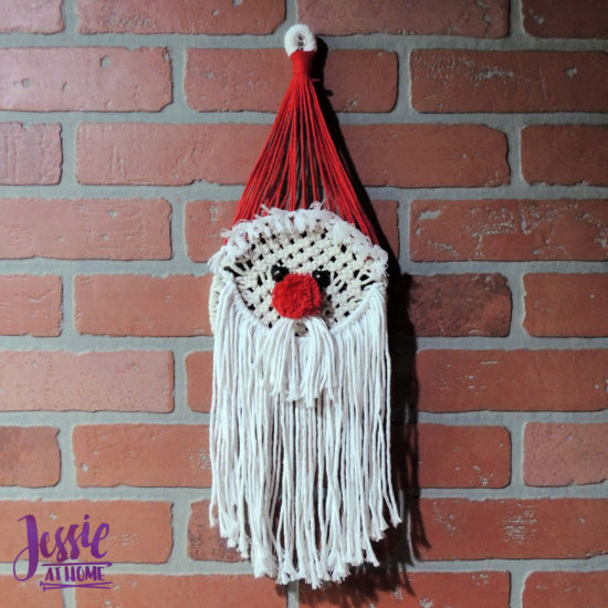 Santa Macrame Kit Review from Jessie At Home - Done