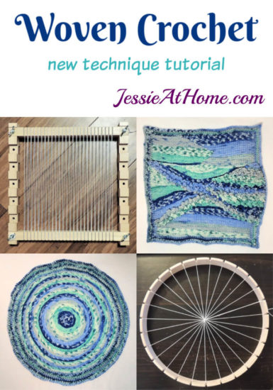 Woven Crochet - A technique tutorial by Jessie At Home